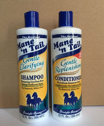 MANE AND TAIL GENTLE CLARIFYING SHAMPOO & GENTLE REPLENISHING CONDITIONER